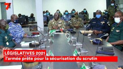 Législatives 2021 : l'armée prête pour la sécurisation du scrutin