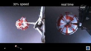Así descendió y aterrizó en Marte el rover Perseverance de la NASA