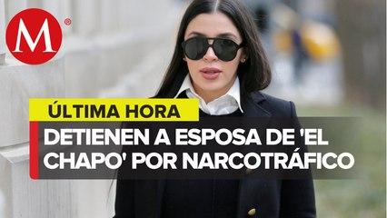 Detienen en EU a Emma Coronel, esposa de 'El Chapo' Guzmán