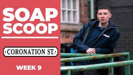 Coronation Street Soap Scoop! Drug dealer Jacob gets nastier
