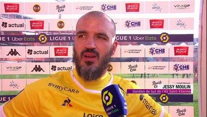 Les Verts s'inclinent 2-1 à Lorient, et peinent face aux