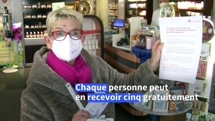 Autriche: les pharmacies proposent des tests Covid-19 à faire soi-même