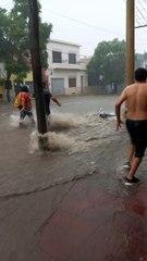 Diluvio en Catamarca: las motos, presas fáciles de la tormenta