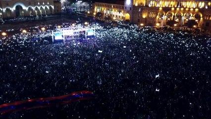 El primer ministro de Armenia dispuesto a ir a elecciones anticipadas