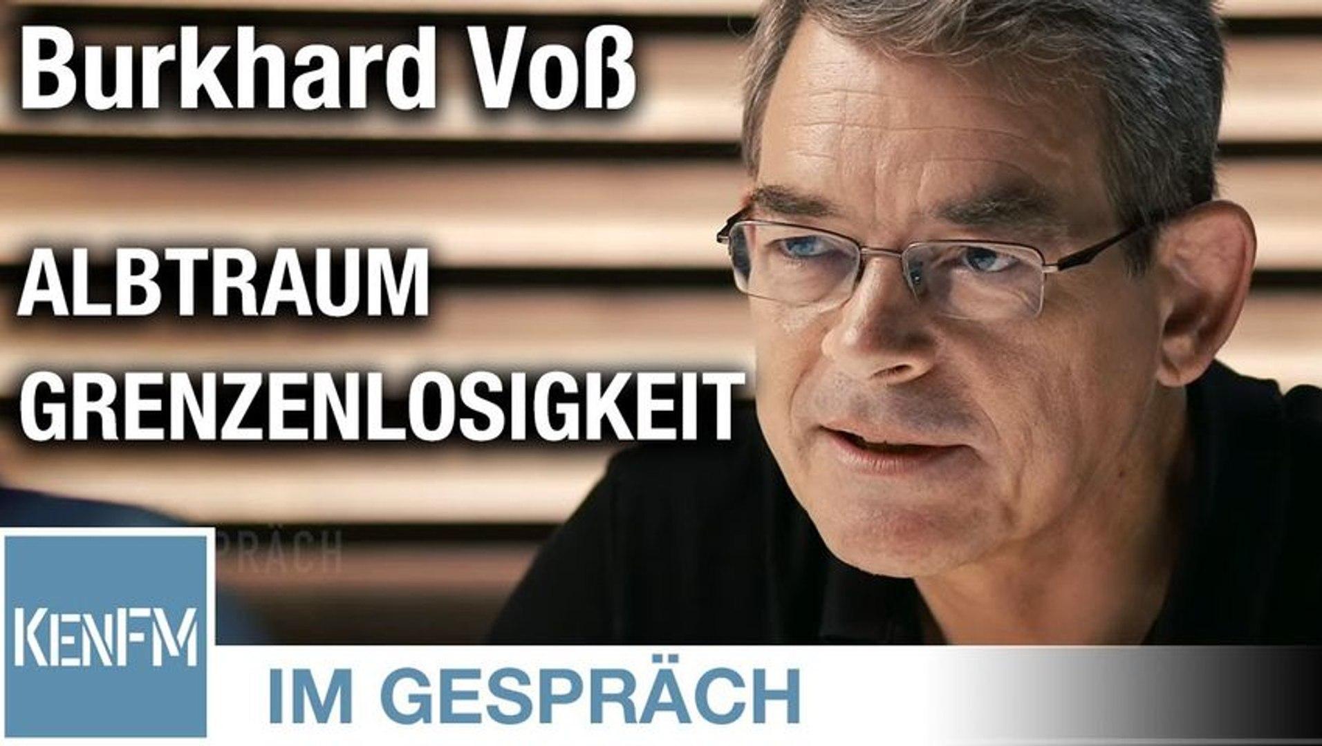 """Im Gespräch: Burkhard Voß (""""Albtraum Grenzenlosigkeit: Vom Urknall bis zur Flüchtlingskrise"""")"""