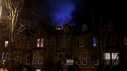 Fire at Wakefield's Stoneleigh Hotel