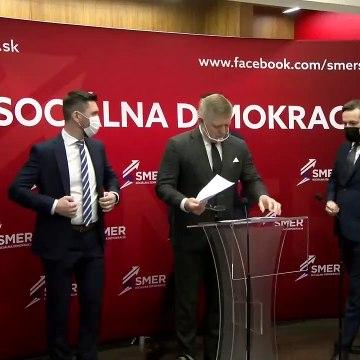 Smer-SD tvrdí, že Slovensko je v zajatí blázna - TK R. Fica