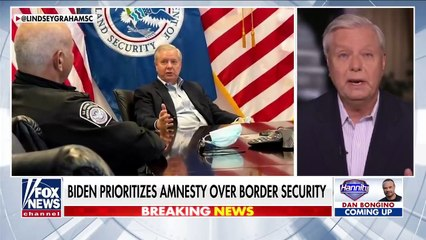 Lindsey Graham 'really worried about the country' after visiting border
