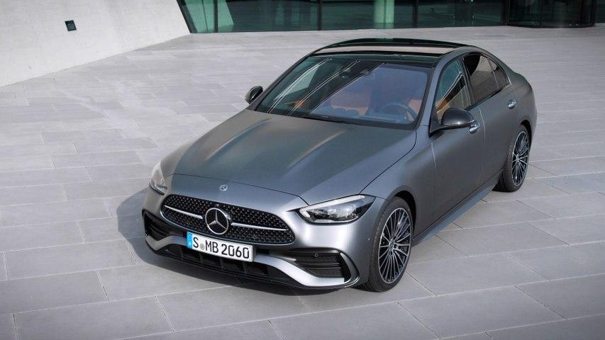 The new Mercedes-Benz C-Class Sedan Design Preview