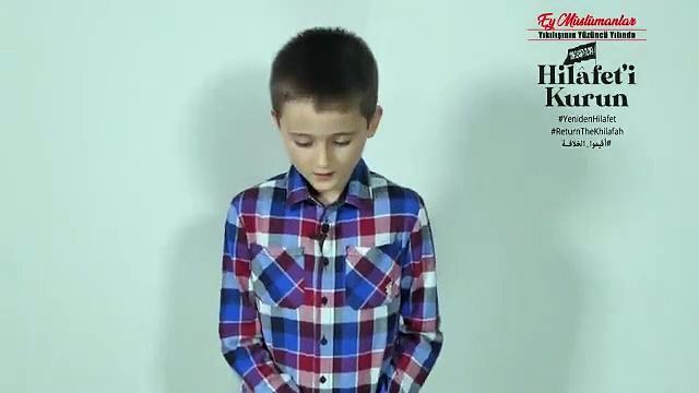 Hizb-ut Tahrir'den 'hilafeti kurun' videosu; çocuklara hilafet çağrısı  yaptırıldı