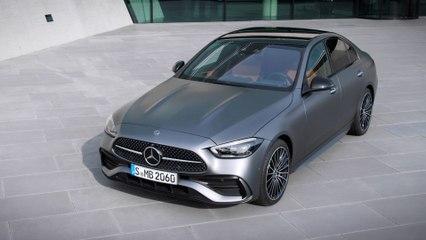 नई मर्सिडीज-बेंज सी-क्लास सेडान डिज़ाइन पूर्वावलोकन