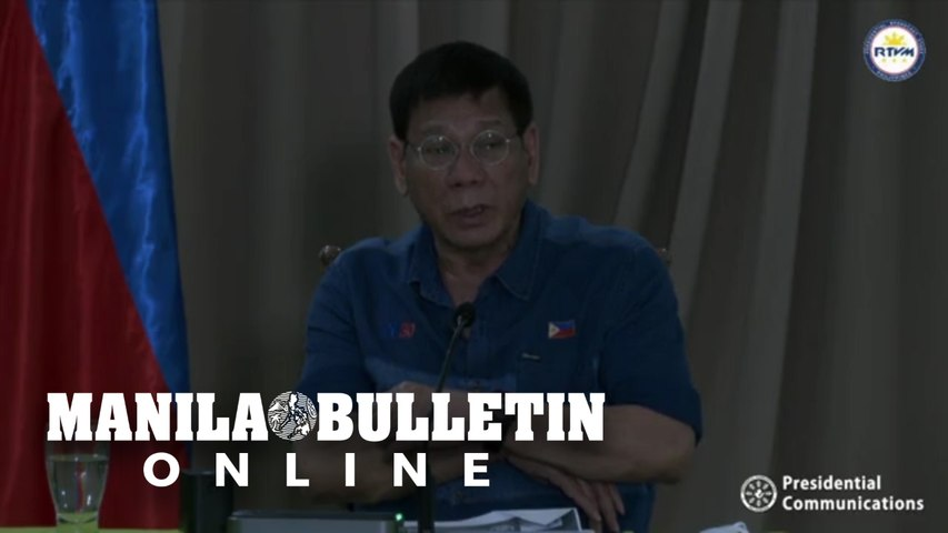 ICYMI: President Duterte holds briefing on the onslaught of Bagyong Auring