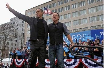 Barack Obama et Bruce Springsteen lancent un podcast Spotify