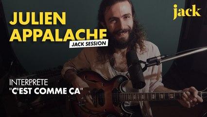 Julien Appalache en Jack session psychédélique