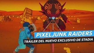 PixelJunk Raiders - Tráiler del nuevo exclusivo de Stadia