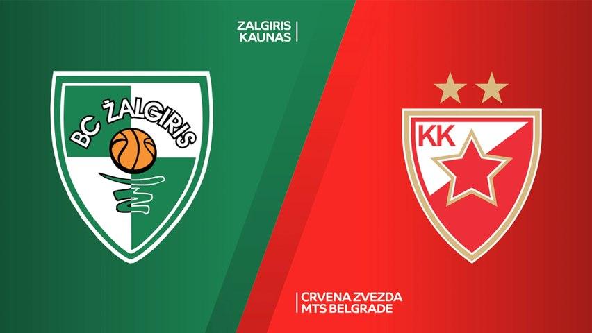 Zalgiris Kaunas - Crvena Zvezda mts Belgrade Highlights | Turkish Airlines EuroLeague, RS Round 24