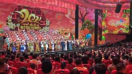 中国农历新年的钟声敲响了 大家过年好!
