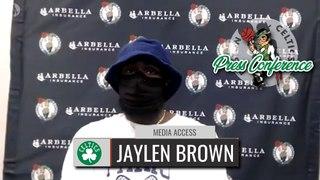 Jaylen Brown Postgame Interview   Celtics vs. Mavericks