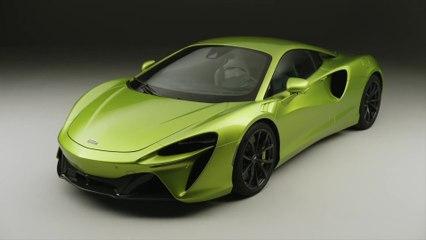 Der neue McLaren Artura - Das Exterieurdesign
