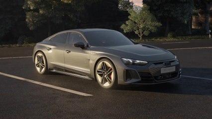 Audi RS e-tron GT - Antriebskonzept und Performance