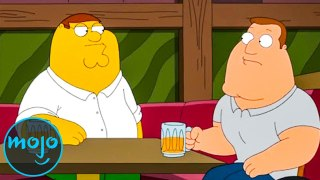 Top 10 Times Family Guy Made Fun of The Simpsons