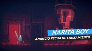 Narita Boy - trailer y fecha de lanzamiento