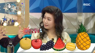 [HOT] Oh Eun-young who likes fruits, 라디오스타 20210224
