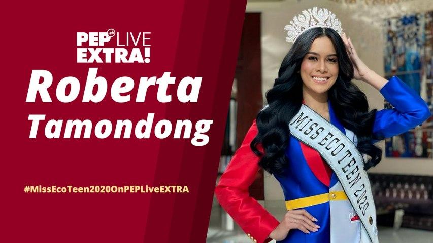 WATCH: Miss Eco Teen International 2020 Roberta Tamondong on PEP Live EXTRA!