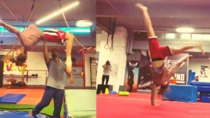 Disha Patani का Gymnastic अवतार देख उड़ जाएंगे आपके होश; VIRAL VIDEO | Boldsky