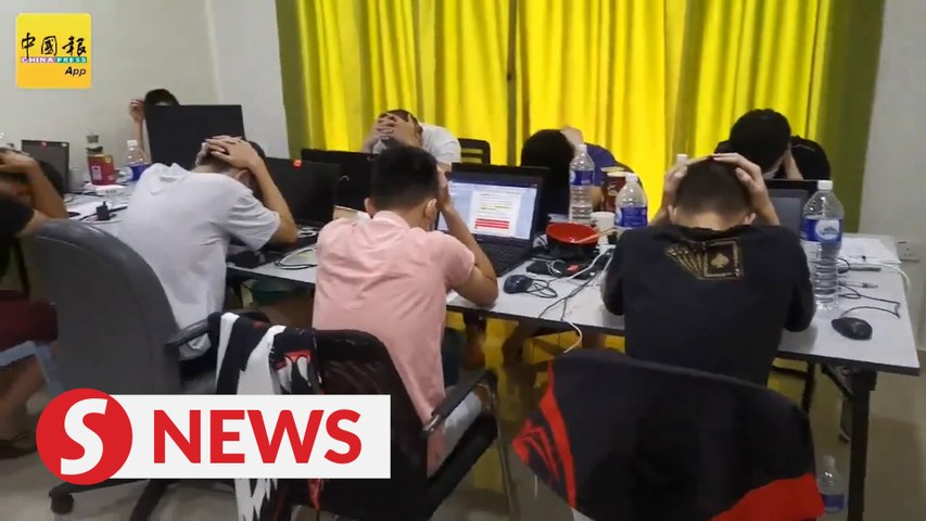 31 nabbed in online gambling bust, including two on their first day at work after CNY