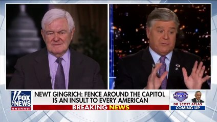 Gingrich on Capitol fence: I'm worried by the steady drift to 'totalitarianism'