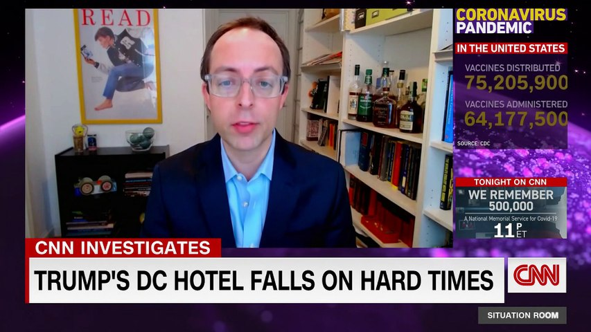 See what has happened to Trump's DC hotel after his loss