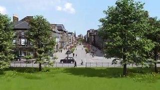 Watch how Edinburgh's George Street will transform in new plans
