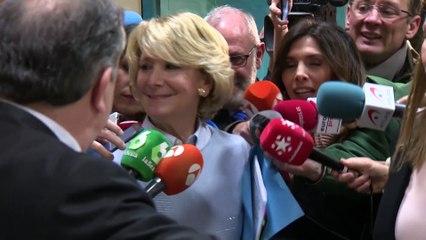 Bárcenas dice al juez que entregó 60.000 euros de un constructor a Aguirre en 2007