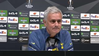Jose Mourinho post match  Europa vs WAC