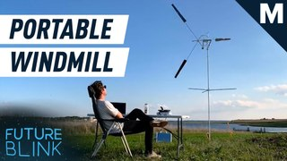 'Catch' the wind with this super portable wind turbine – Future Blink