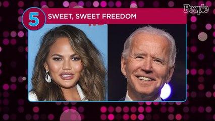 Chrissy Teigen Jokes About Breaking Up with Joe Biden After President Unfollows Her