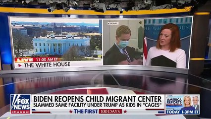 Biden accused of hypocrisy after reopening detention centers for children