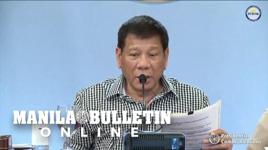 Duterte promises to dedicate remaining months in eradicating corruption