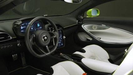 Der neue McLaren Artura - Das Interieurdesign