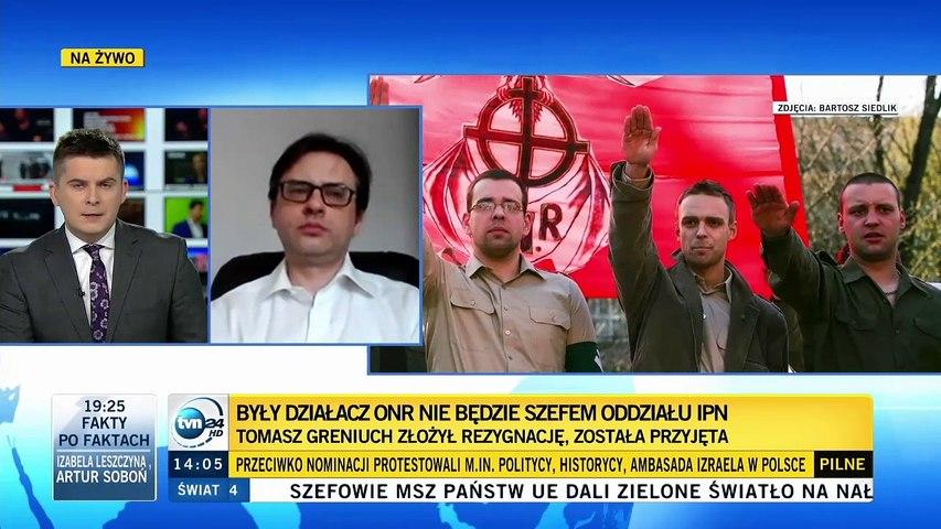 Rafał Pankowski z NIGDY WIĘCEJ o dymisji Greniucha ze stanowiska szefa IPN-u we Wrocławiu, 22.02.21.