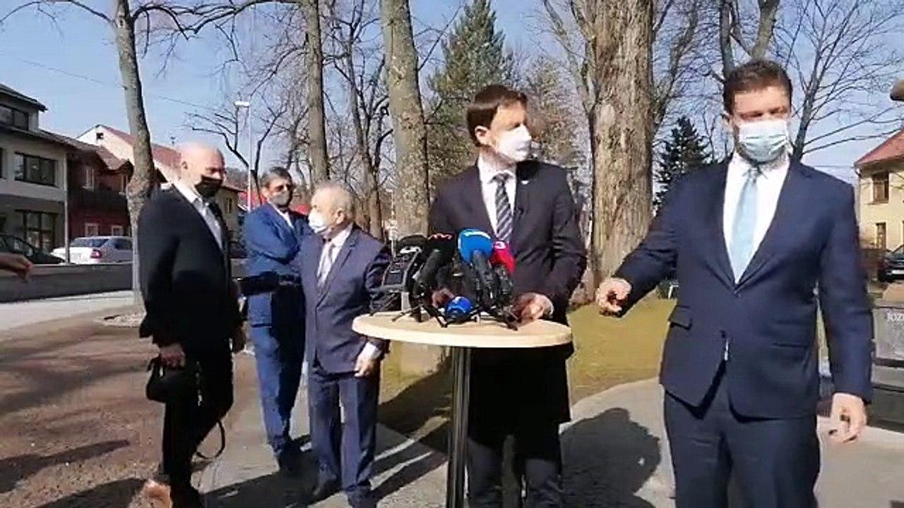 ZÁZNAM: Brífing po podpise zmluvy na výstavbu rýchlostnej cesty R3 Tvrdošín - Nižná