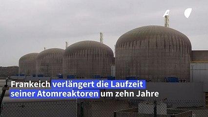 Frankreichs Atomkraftwerke sollen länger laufen dürfen