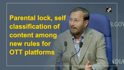 Parental lock, self classification of content among new rules for OTT platforms