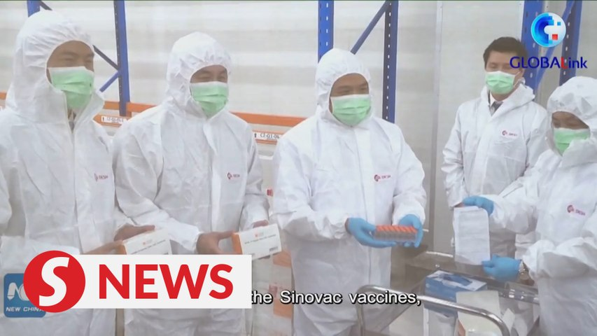 Thailand receives first batch of Chinese Covid-19 vaccines