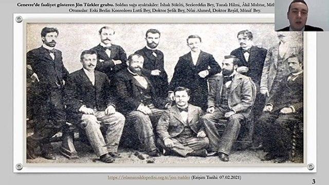 """""""ERMENİLERİN İKİNCİ MEŞRUTİYET'İN İLANINA YAKLAŞIMI (1908)"""" BAŞLIKLI KONFERANS"""