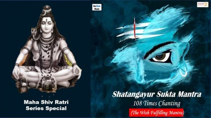 Lord Shiva Mantra - Shatangayur Sukta  The Wish Fulfilling Mantra  108 Times Chanting  Ravi Dhanraj