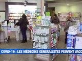 A la Une : Les médecins généralistes peuvent vacciner / Un éleveur de la Loire chez Cyril Hanouna / Du débardage à cheval à La Fouillouse - Le JT - TL7, Télévision loire 7