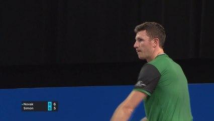 OPEN SUD DE FRANCE 2021 - Dennis Novak vs Gilles Simon - 1er tour - Highlights