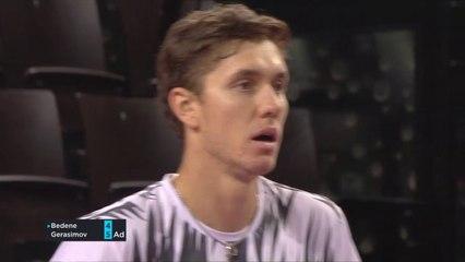 OPEN SUD DE FRANCE 2021 - Egor Gerasimov vs Aljaz Bedene - 2ème tour -Highlights